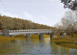 Rendering of New Bridge